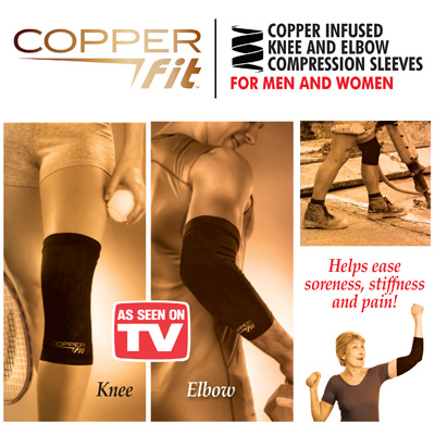 Copper Fit Compresion Sleeves and You